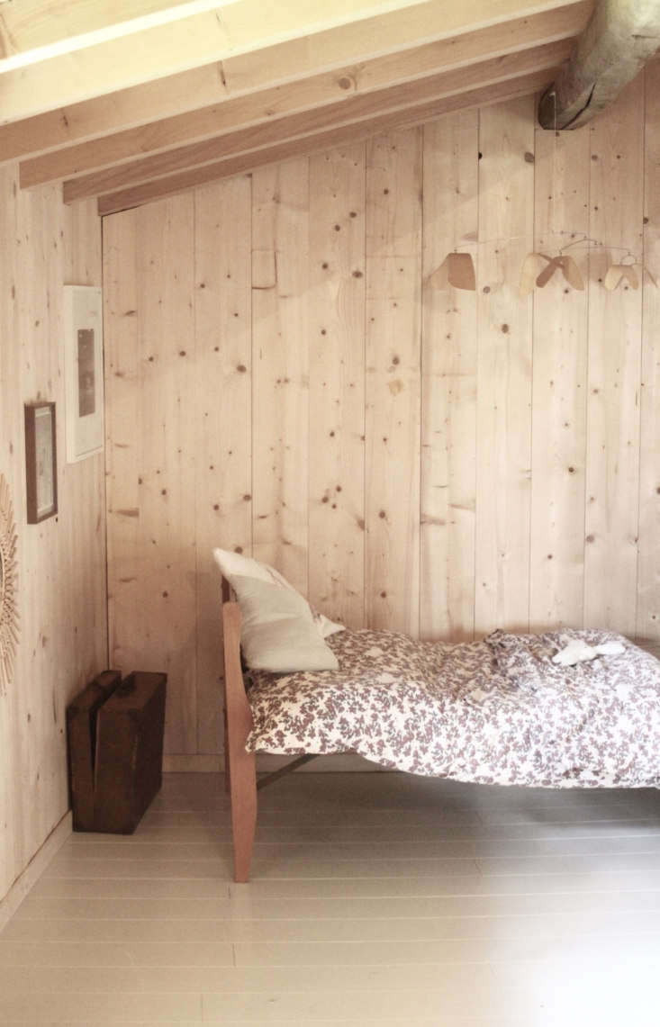 alma&#8\2\17;s bed is a \1950s design passed down from her grandfather. the 18
