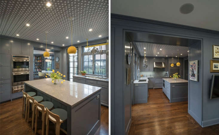 Inspired by Julia Child's Boston kitchen, Sweeten recommended Manhattan-based firm Essential Design + Build to renovate this kitchen in Forest Hills Garden, Queens.