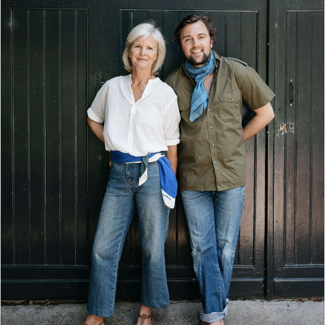 A family of entrepreneurs. Martine with her son, Jacques, who oversees the business side of Moismont.  Martine&#8