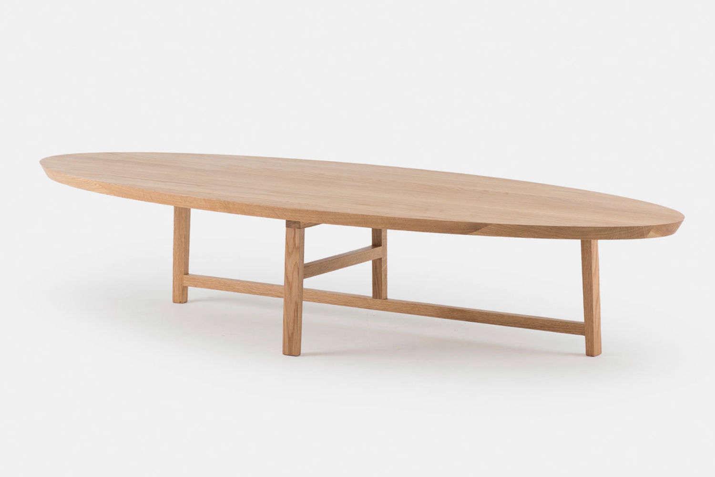 The Trio Oval Coffee Table by Neri & Hu for De La Espada starts at $
