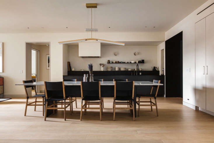 &#8\2\20;most of the millwork in the apartment—and the custom kitchen tab 11