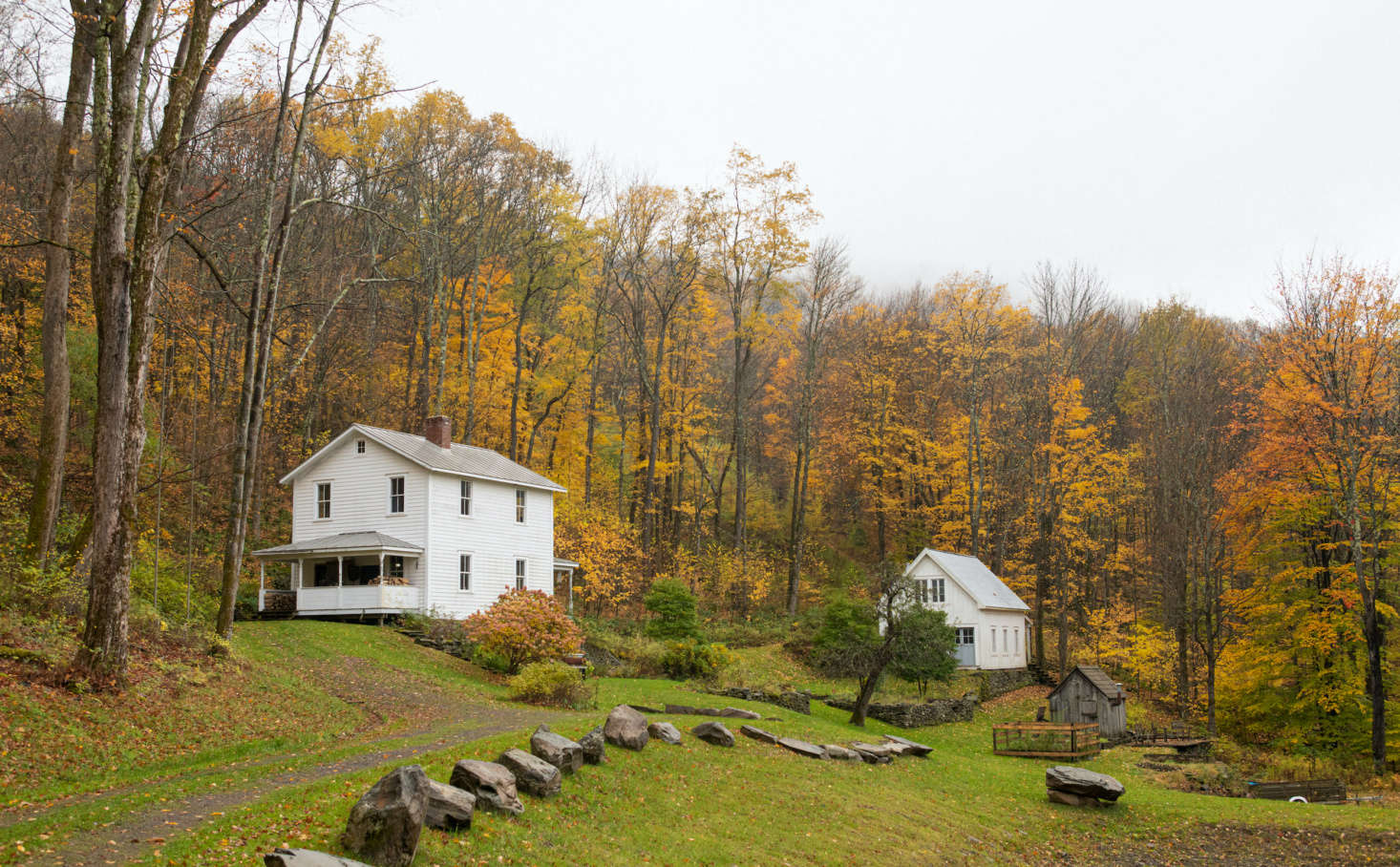 Autumn upstate, outside Andrea Gentl and Martin Hyers&#8