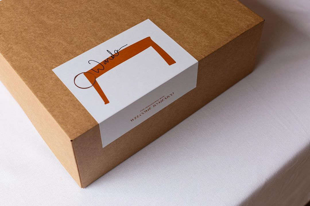 The Wanda Box arrives in an elegant gift box.