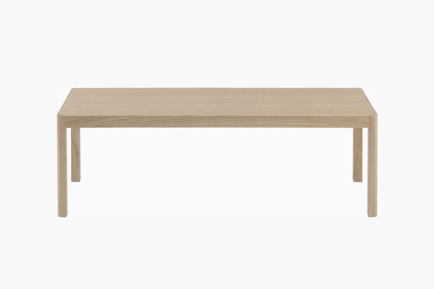 The Workshop Coffee Table from Muuto is made of lacquered oak for $685 at Design Within Reach.