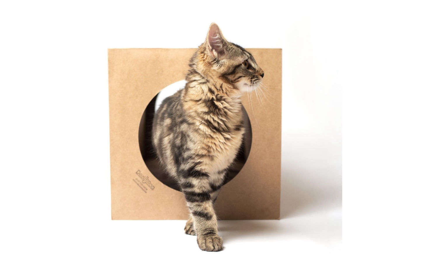 A longer, more durable version of the paper grocery bags that cats adore, this nearly 3-foot-long Cat Tunnel was designed by a veterinarian and collapses for easy storage. It&#8