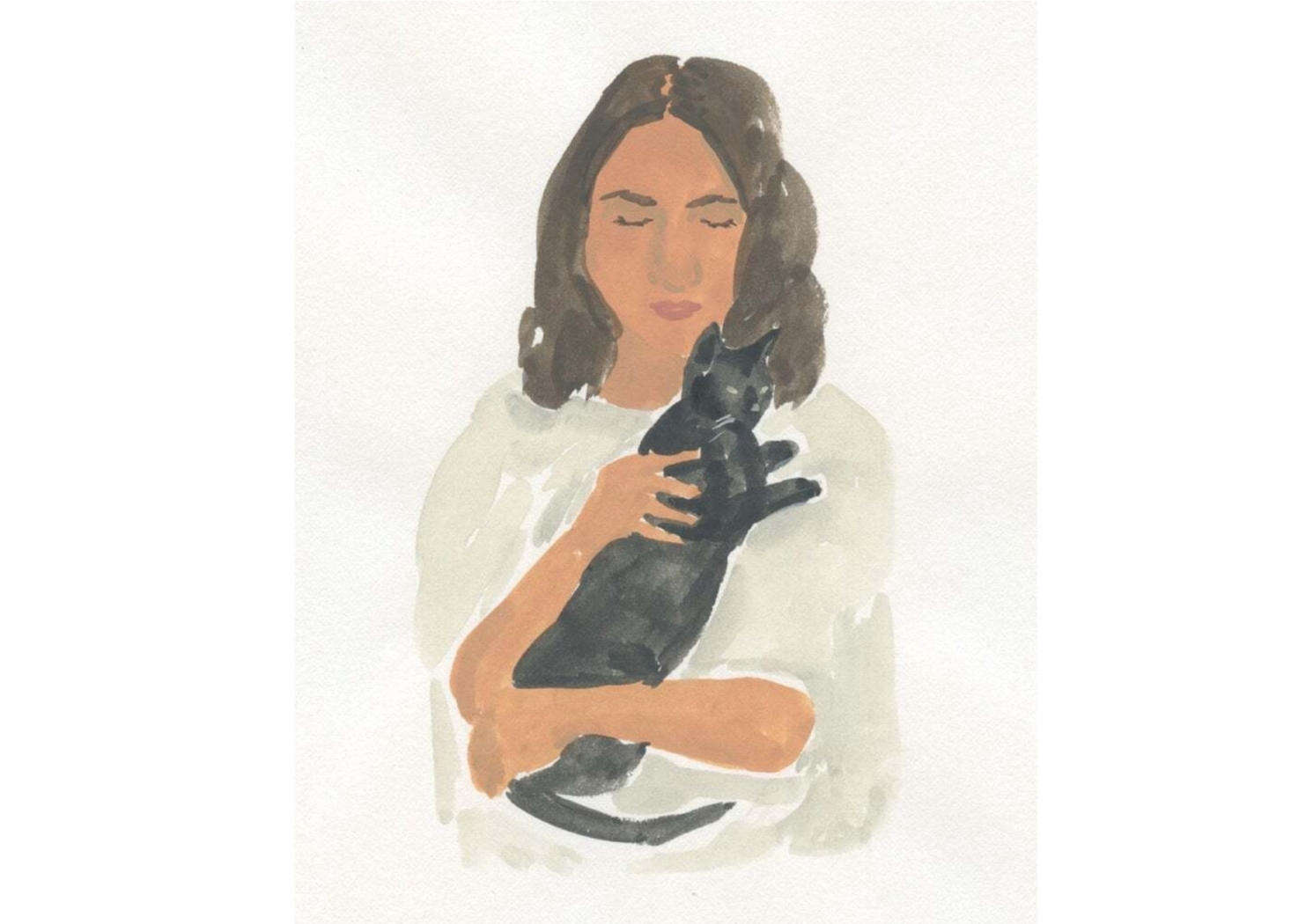 In April, cat lover and artist Leah Goren published the book Catlady: A Love Letter to Women and Their Cats. She&#8