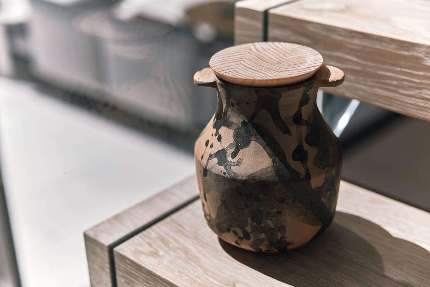 And the Mixteca Jar ($86) is handmade in Tonaltepec, a community in Oaxaca whose ancient ceramic tradition dates back centuries and is one of few to decorate pieces with organic plant pigments. This one's painted with an ink made from prickly pear and oak bark, and it's ideal for holding coffee, flour, salt—or a scattering of dried flowers.