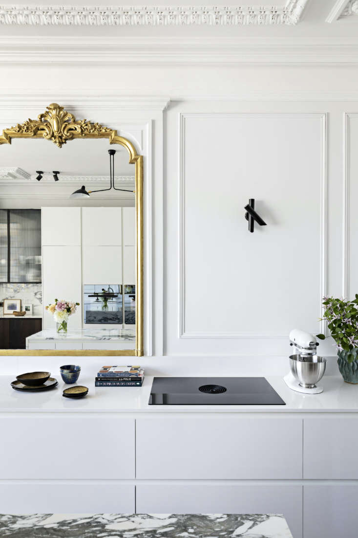 The kitchen was originally the dining room, but Olivia decided this new layout made the most sense for her clients.