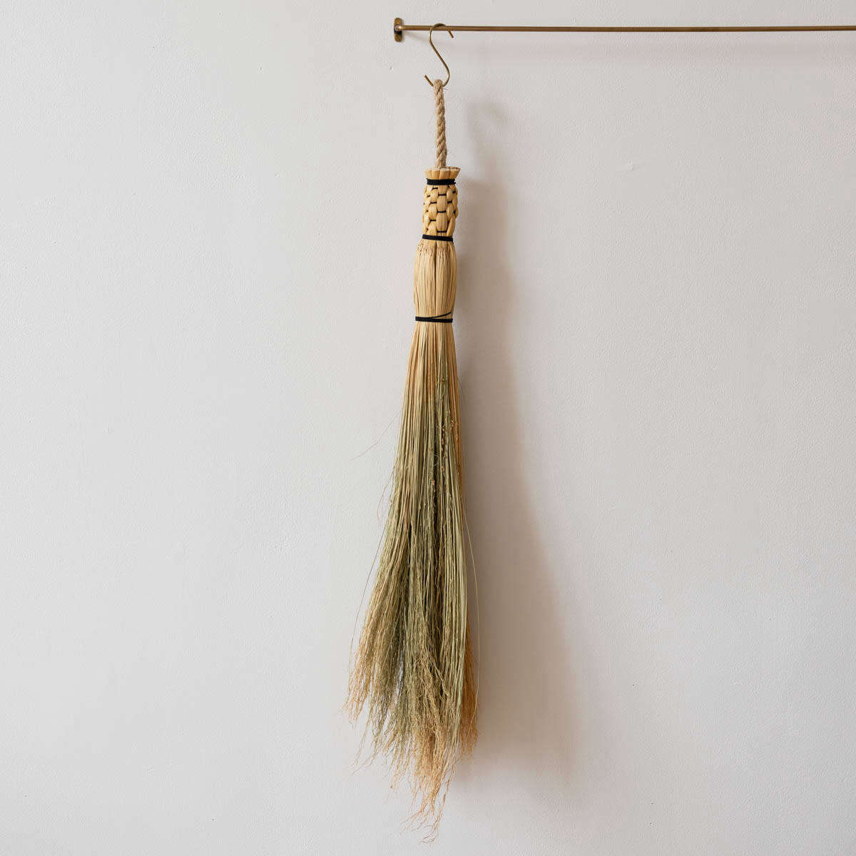 One of the more rustic of the offerings: The Handmade Sailor Corn Broom—also called a cobweb broom—is named for &#8