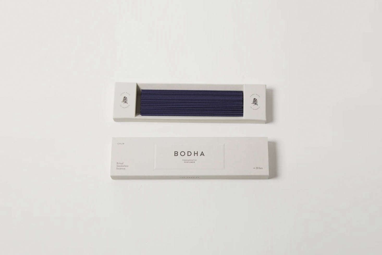 The Bodha Calm Incense has a gentle fragrance and smokeless burn. Made in Japan using traditional methods, the incense is $3