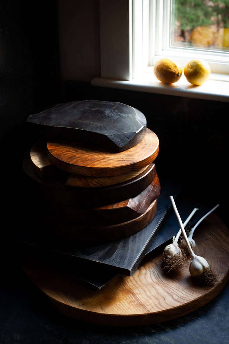 Catskills-based furniture designer Brian Persico also makes artful wood kitchen tools, including organically shaped cutting boards; prices start at $src=