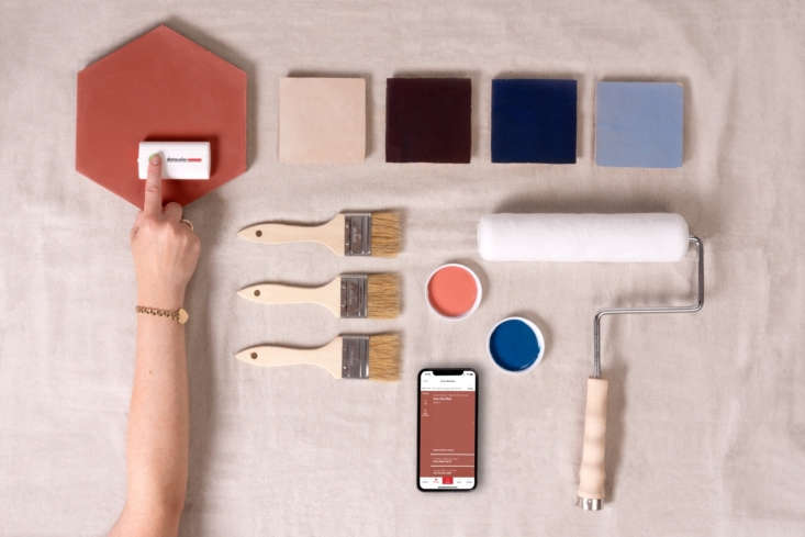 Above: With ColorReader EZ, you can archive the colors you've used in a remodeling project. Scan all the hues you've used and save them to your phone using the versatile ColorReader app.