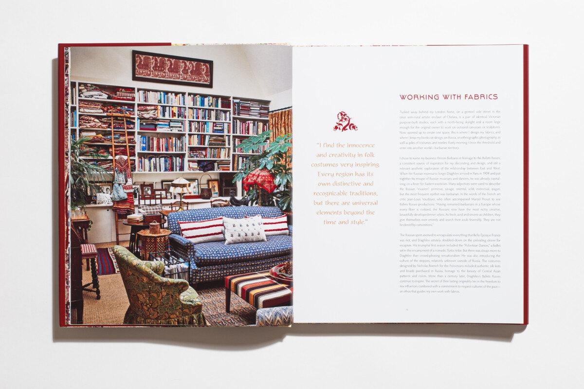 Decors Barbares: The Enchanting Interiors of Nathalie Farman-Farma, features the author&#8