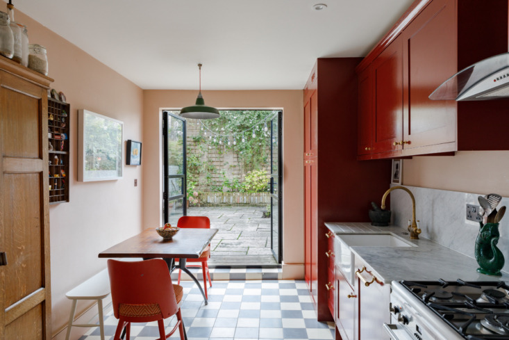 The palette is bold, with red being a dominant theme throughout. &#8