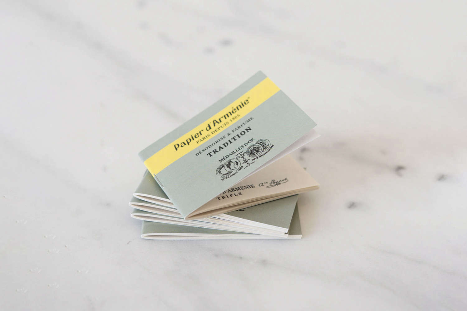 Remodelista Gift Guide 2020 Gifts for the Home Fragrance Snob A classic packet of Papier d&#8\2\17;Armenie fills a room with a light natural vanilla scent. Tear off a strip of this Armenian paper, fold it like an accordion and place it on its side on a heat resistant surface. A single booklet is available at June Home Supply or a full sampler box is \$3\2 at Flotsam & Fork.