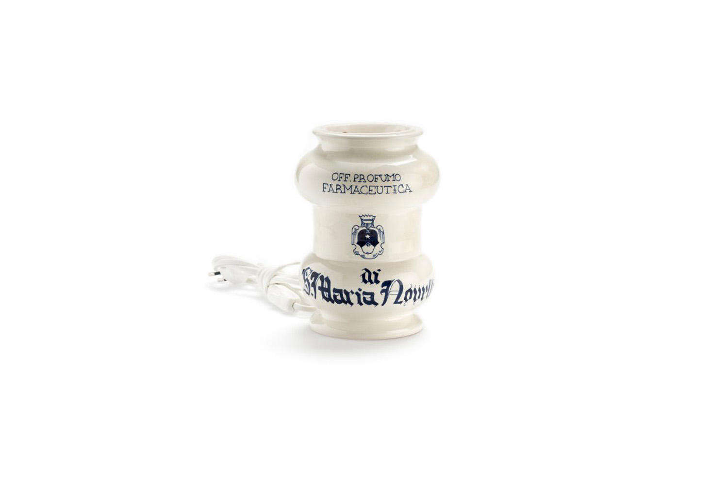 Remodelista Gift Guide 2020 Gifts for the Home Fragrance Snob Makers of our favorite potpourri, Santa Maria Novella makes a white and blue Ceramic Perfume Burner, handmade by master potters in Montelupo Fiorentino designed to be used with any of the brand&#8\2\17;s room fragrances (or any oils of your choice); \$\180 at Santa Maria Novella.