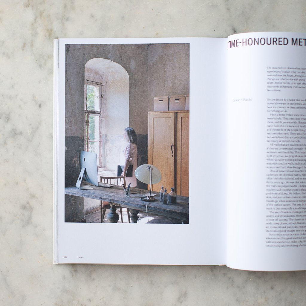 Still: The Slow Home, by Natalie Walton, features a collection of  interiors designed according to the Slow Living principles; $38.64 from Bookshop.