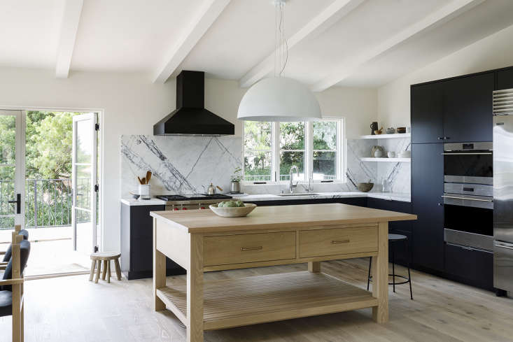&#8\2\20;in the kitchen, dark cabinetry (painted in benjamin moore&#8\2 12