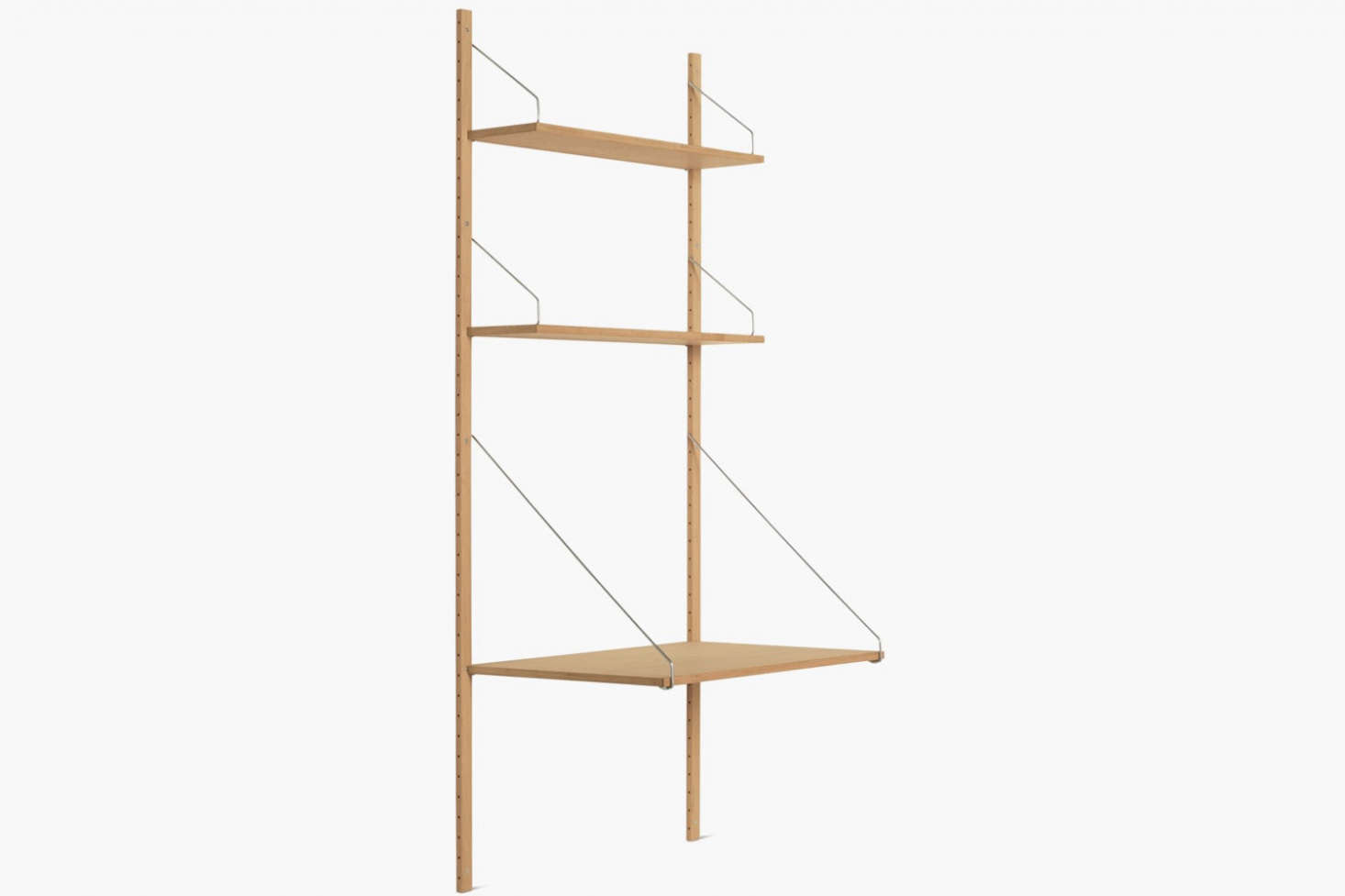 The Royal System Shelving Plus comes in a range of configurations starting at $src=