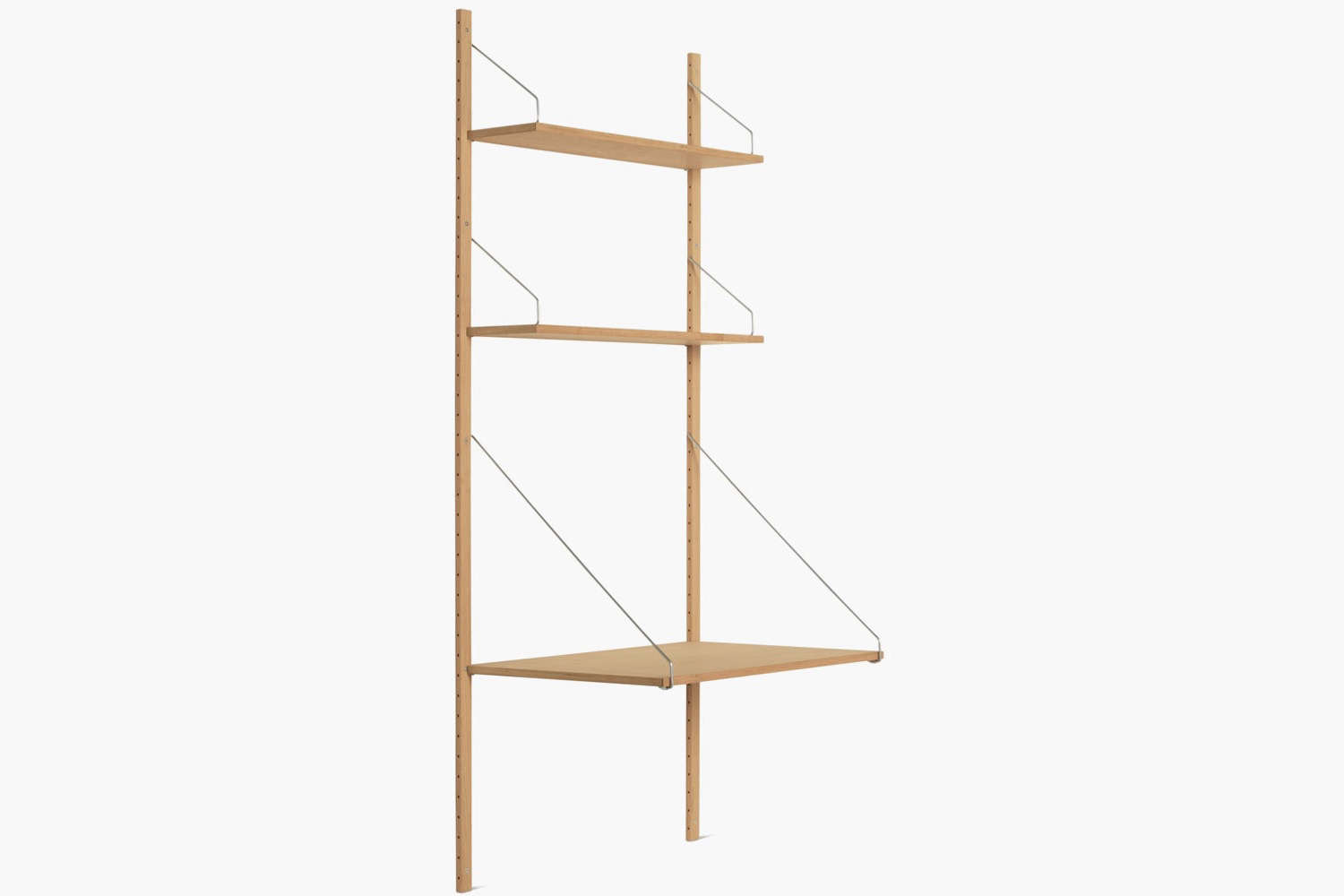 The Royal System Shelving Plus comes in a range of configurations starting at $loading=