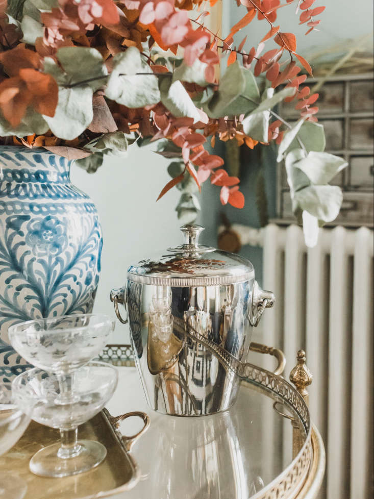 Silver Ice Bucket with Cover from Madame de la Maison by Ajiri Aki