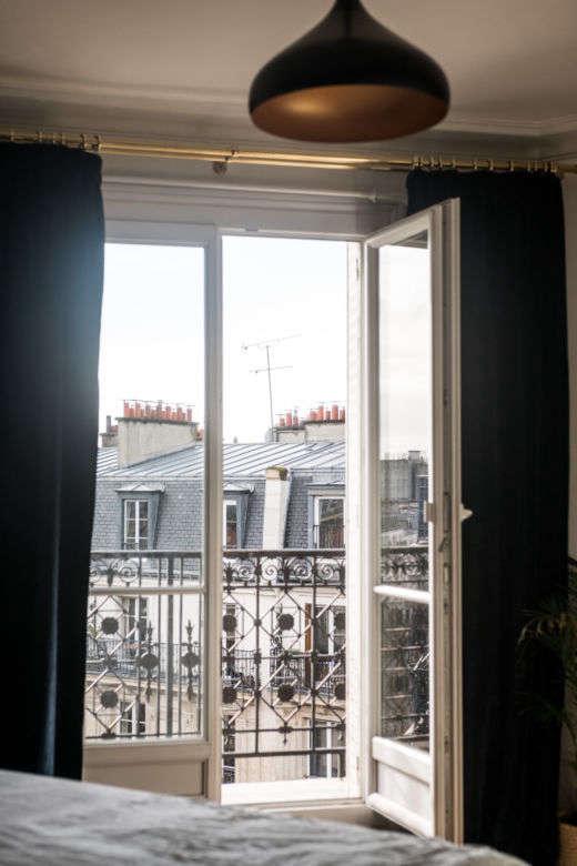 Window in Ajiri Aki's Paris Home via The Socialite Family