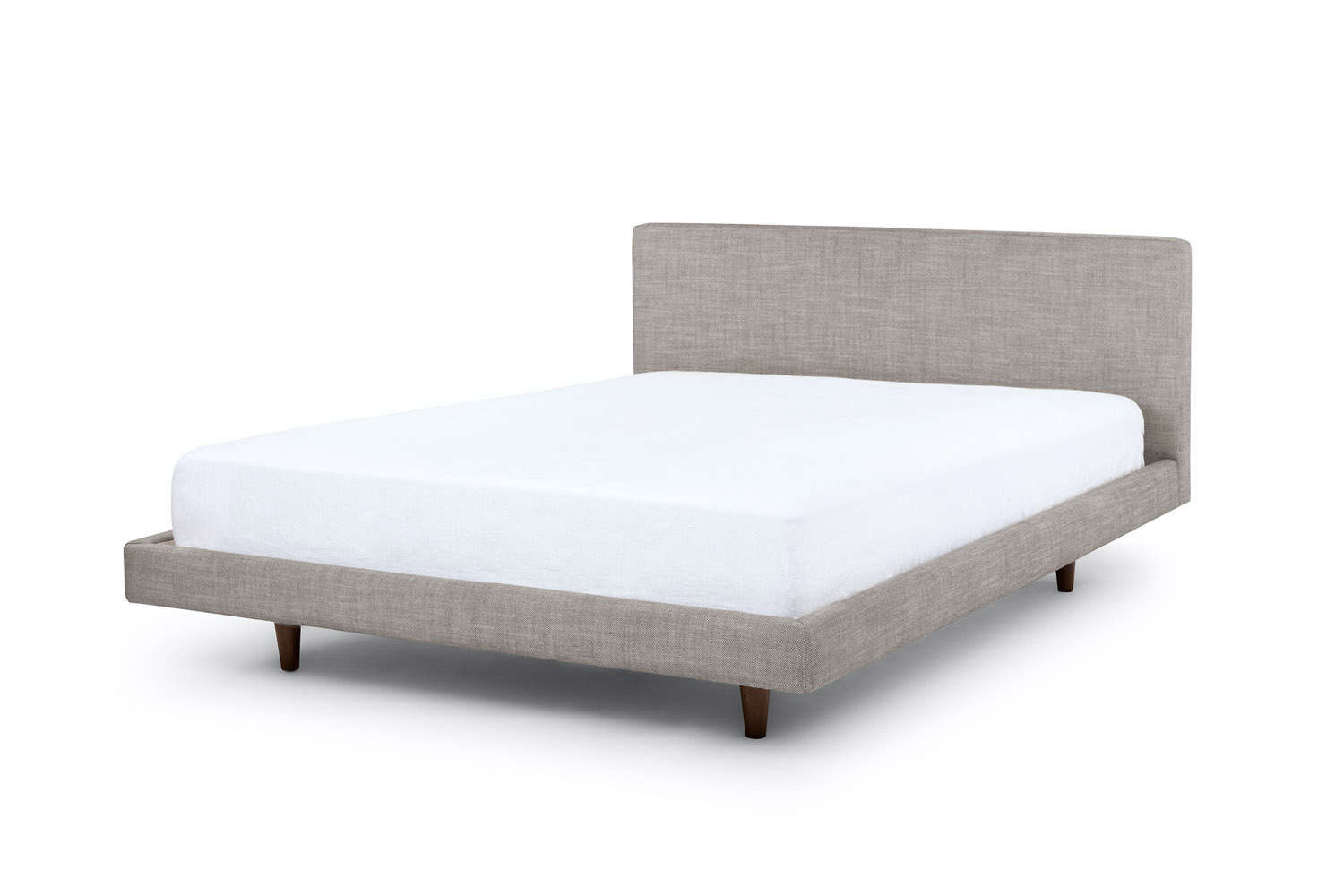 From furniture disruptor brand Article, the Tessu Glaze Gray Queen Bed is $699.