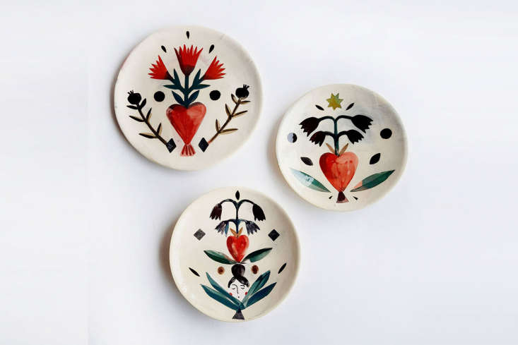 The Flat Talisman Heart Plates are &#8