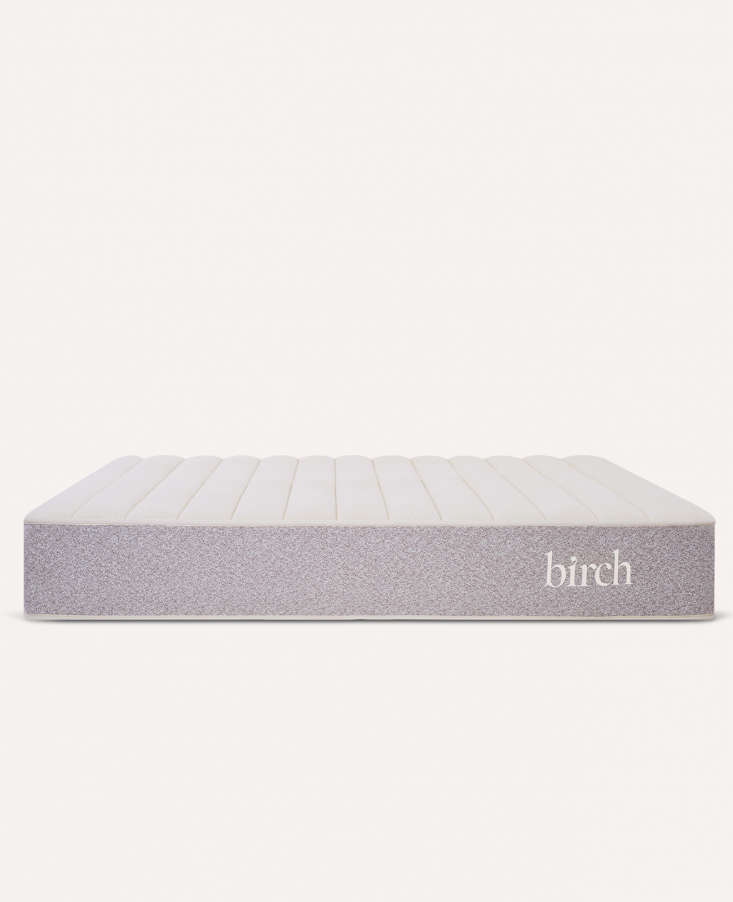 The bed-in-a-box comes with free, contactless delivery and a 0-night sleep trial period. It also is made with zero polyurethane-based foams—so there's no toxic off-gassing.