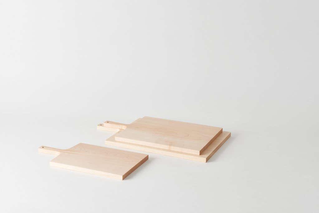 The Deborah Ehrlich Maple Cutting Boards start at $loading=