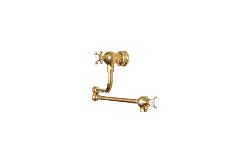 The deVOL Aged Brass Pot Filler Tap is $loading=