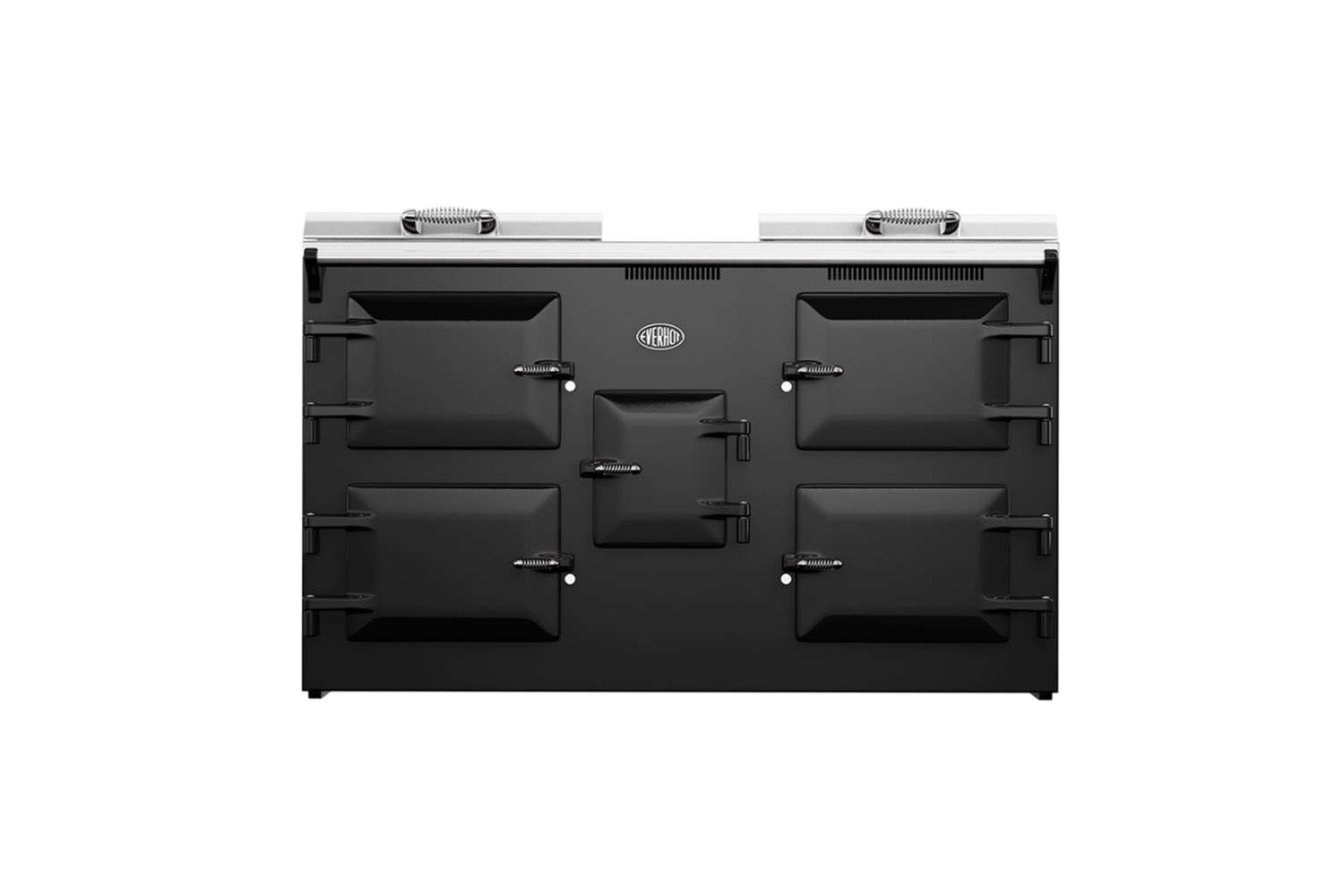 The Everhot Range Cooker 0 Series is available in black and a range of other colors. Contact Everhot for more information.