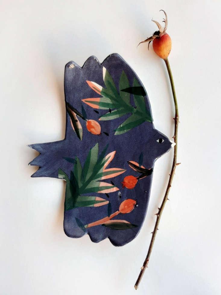 Flight Foliage Shade Bird Ceramic by Elise Lefebvre