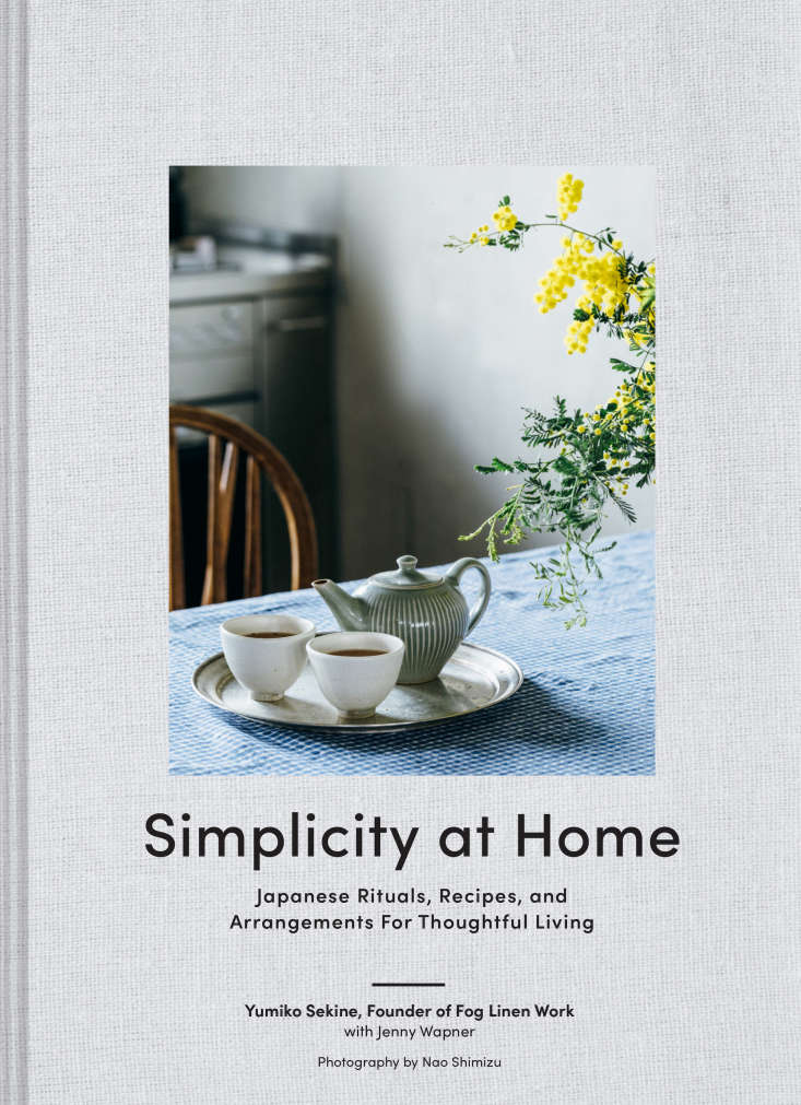 The first 0 pre-orders of Simplicity at Home ($.50 from Fog Linen) will receive a copy of the book with a handmade bookmark signed by the author, Yumiko Sekine. It&#8