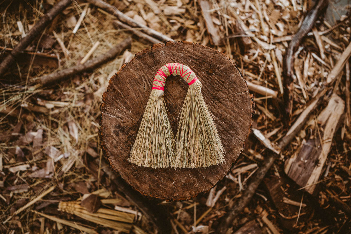 Frankies Broom ($) is the first I spotted on the Minka website, with a charmingly imperfect wrapped handle. (It&#8