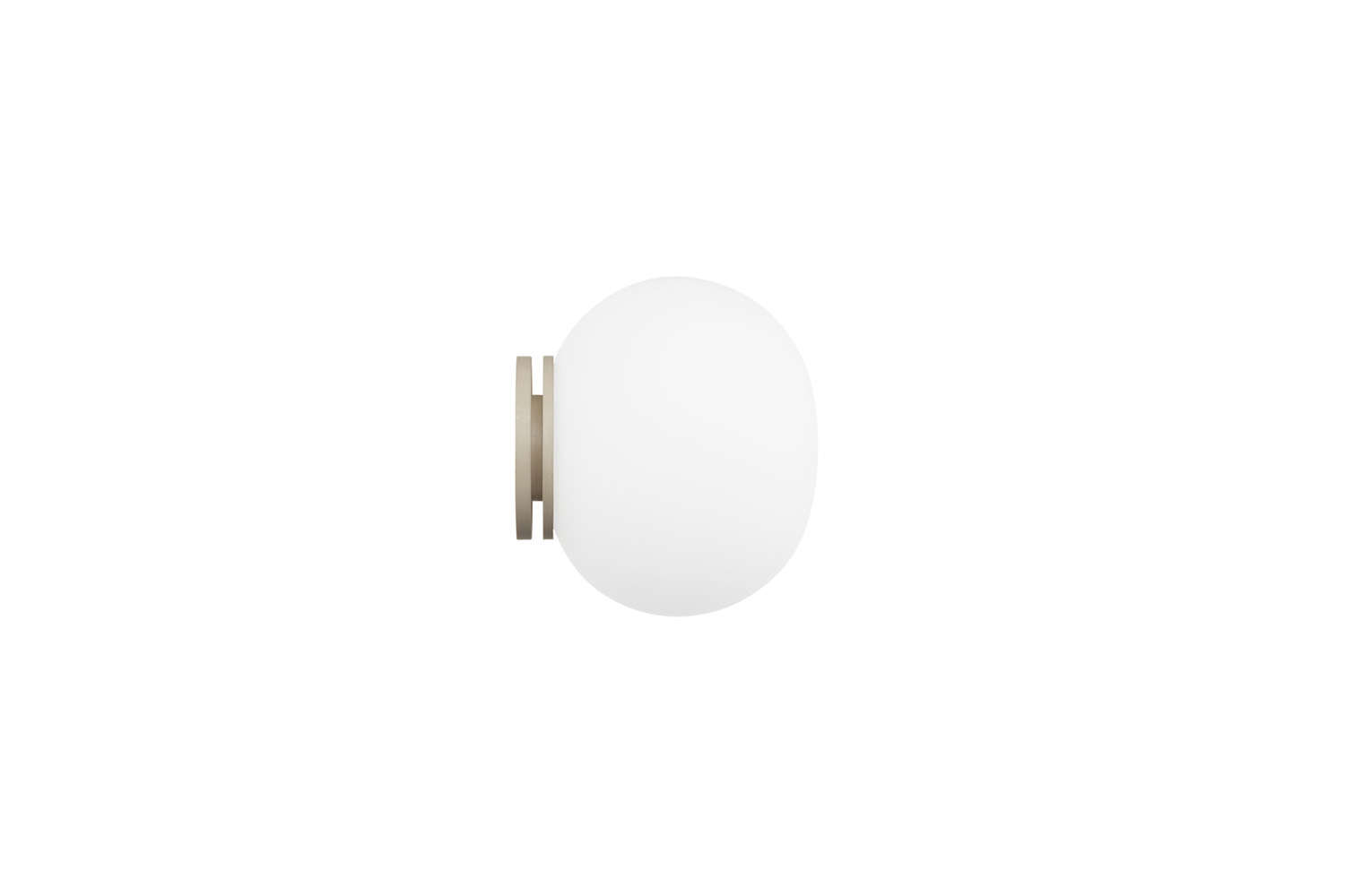 Designed by Jasper Morrison for FLOS, the Mini Glo Ball White Light with glass diffuser is $5 at Hive.