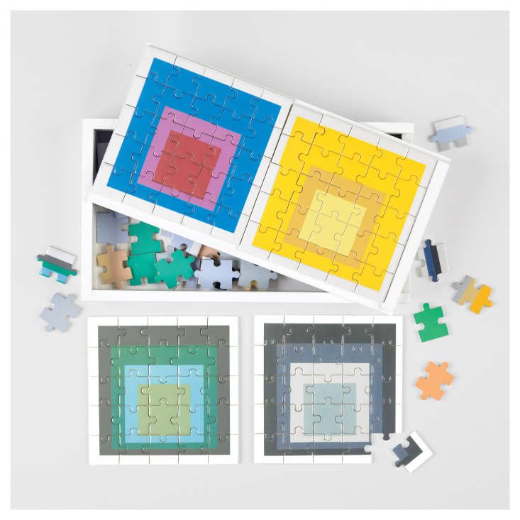 The Josef Albers Wooden Puzzle Set is $ from the American Institute of Architects bookstore. It&#8