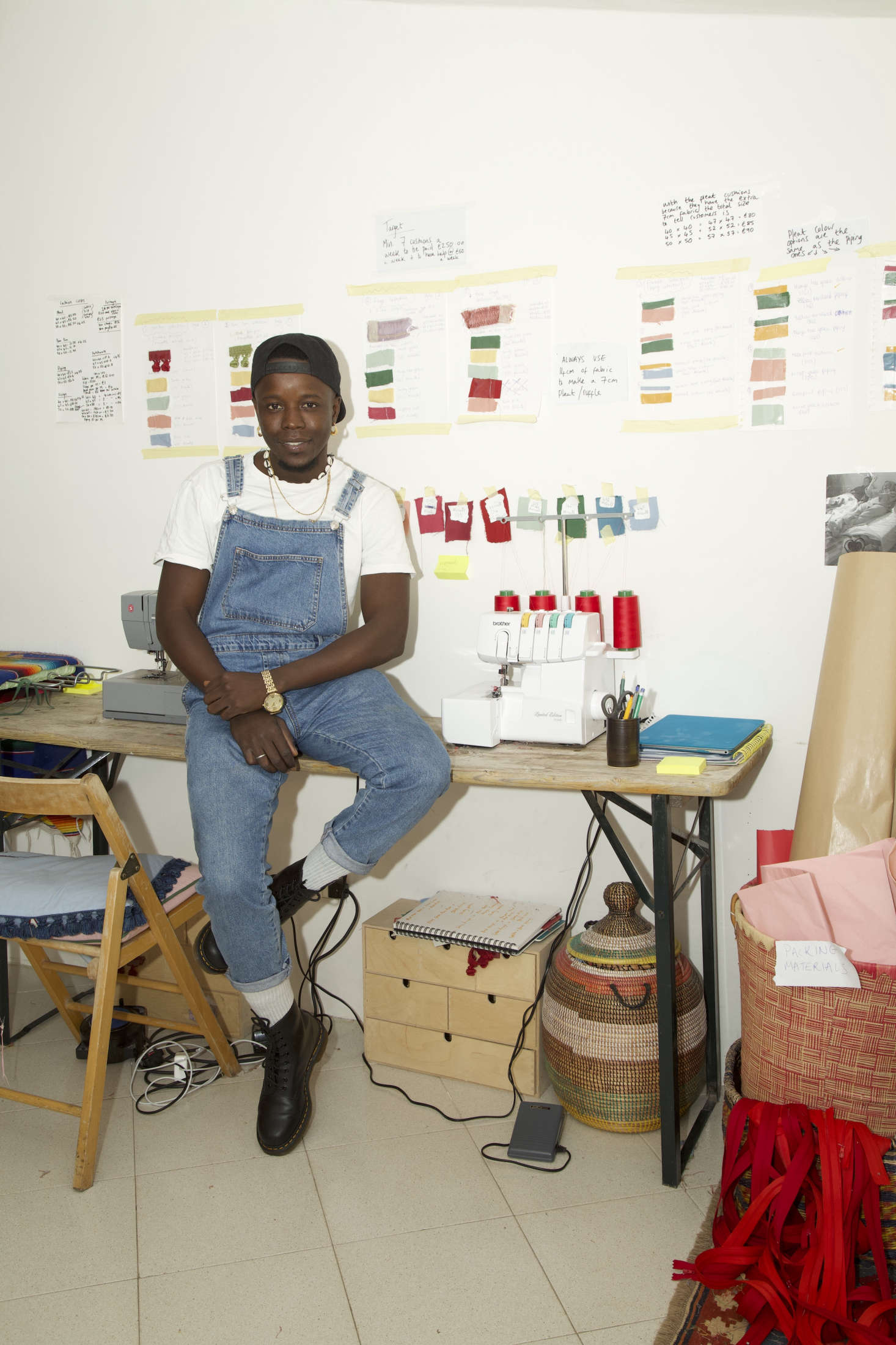 Paboy learned to sew at the age of  by working in his uncle&#8