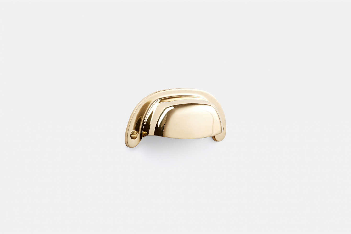 Also from Rejuvenation, the unlacquered brass Massey Bin Pull is $ each.