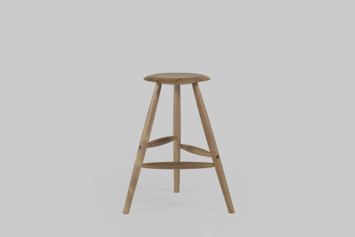 the winner will be able to customize their stool from the selection of woods an 12