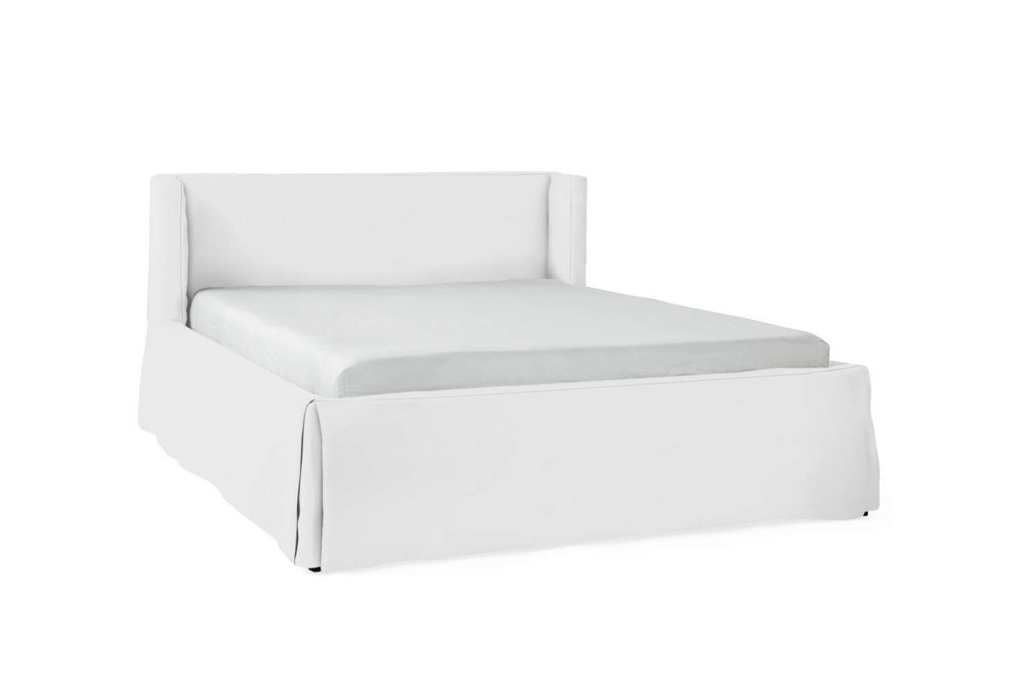 The Broderick Slipcovered Bed is currently on sale $