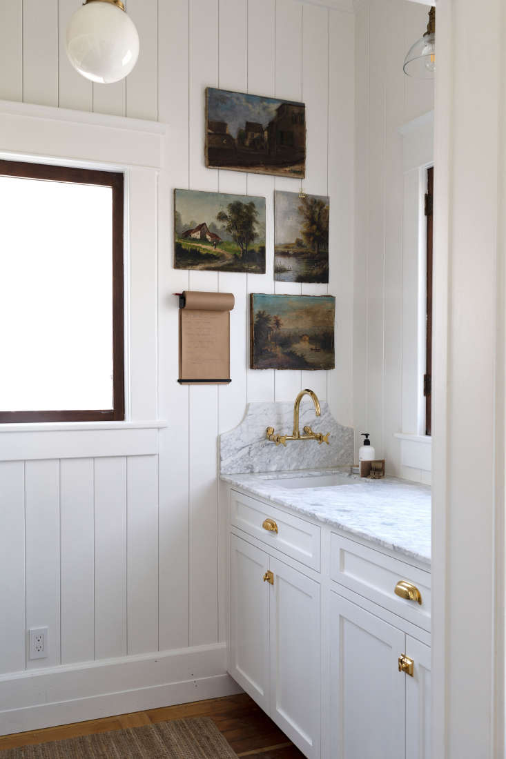 finishes pantry: how to hand paint kitchen cabinets via the grit and polish blo 16