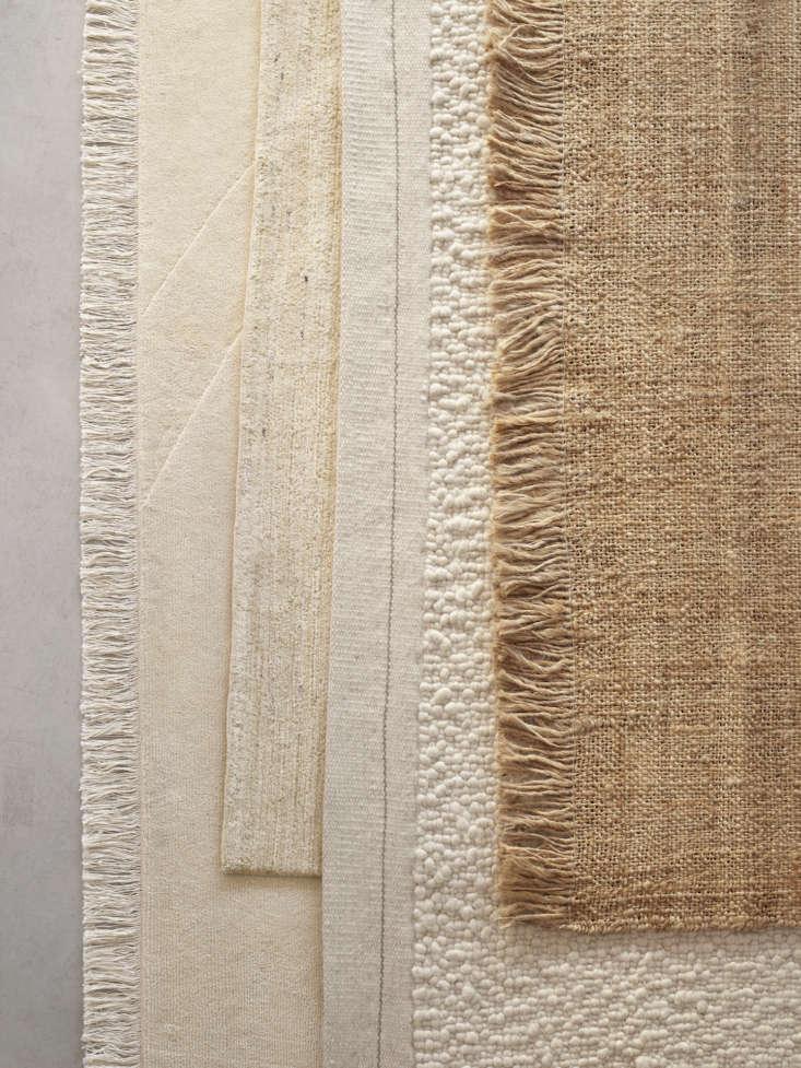 layered armadillo rugs