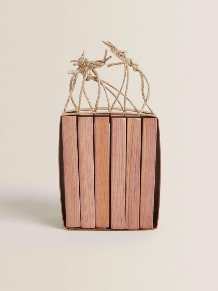 Cedar Blocks from Zara Home