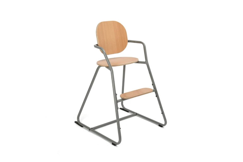 The Charlie Crane TIBU High Chair, shown in Grey, is $9.95 at Scandiborn.
