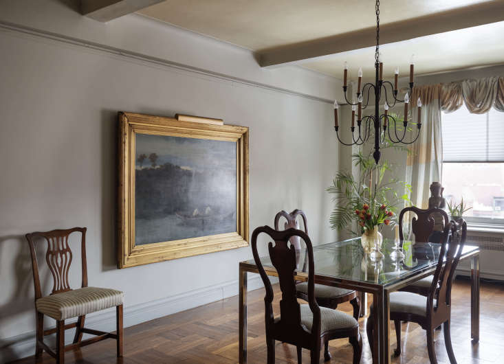 In the dining room is a painting by the th-century French artist Alphonse Legros (37-loading=