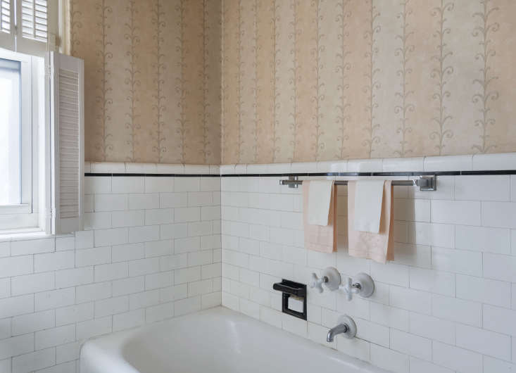 Doris preserved the tile, tubs, and faucets in the apartment&#8