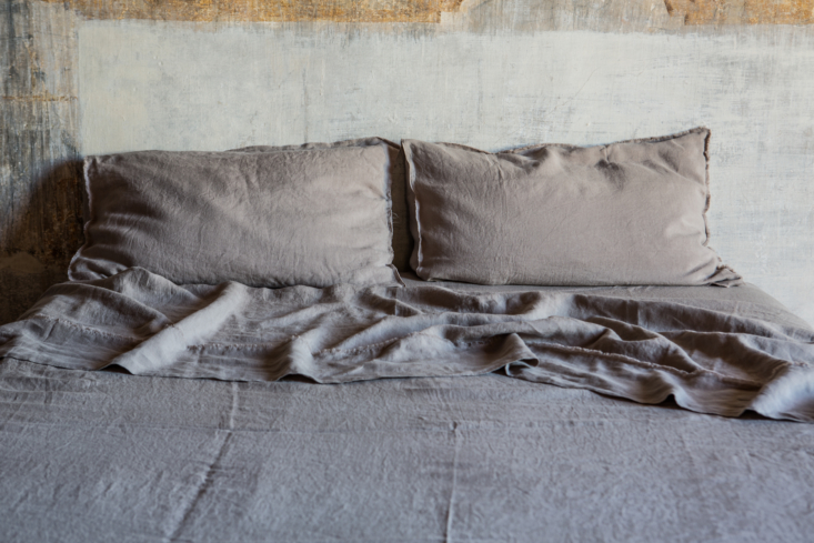 A set of linens from Faye Toogood + Once Milano.