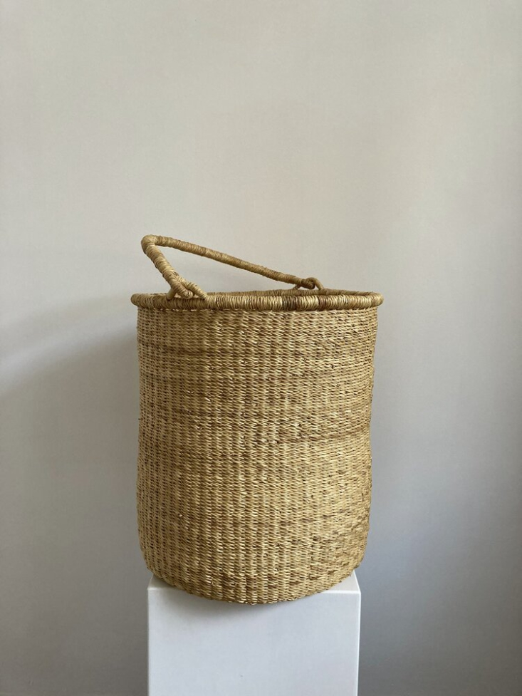 Kathrin Eckhardt Studio Laundry Basket from Nora Khereddine Objects