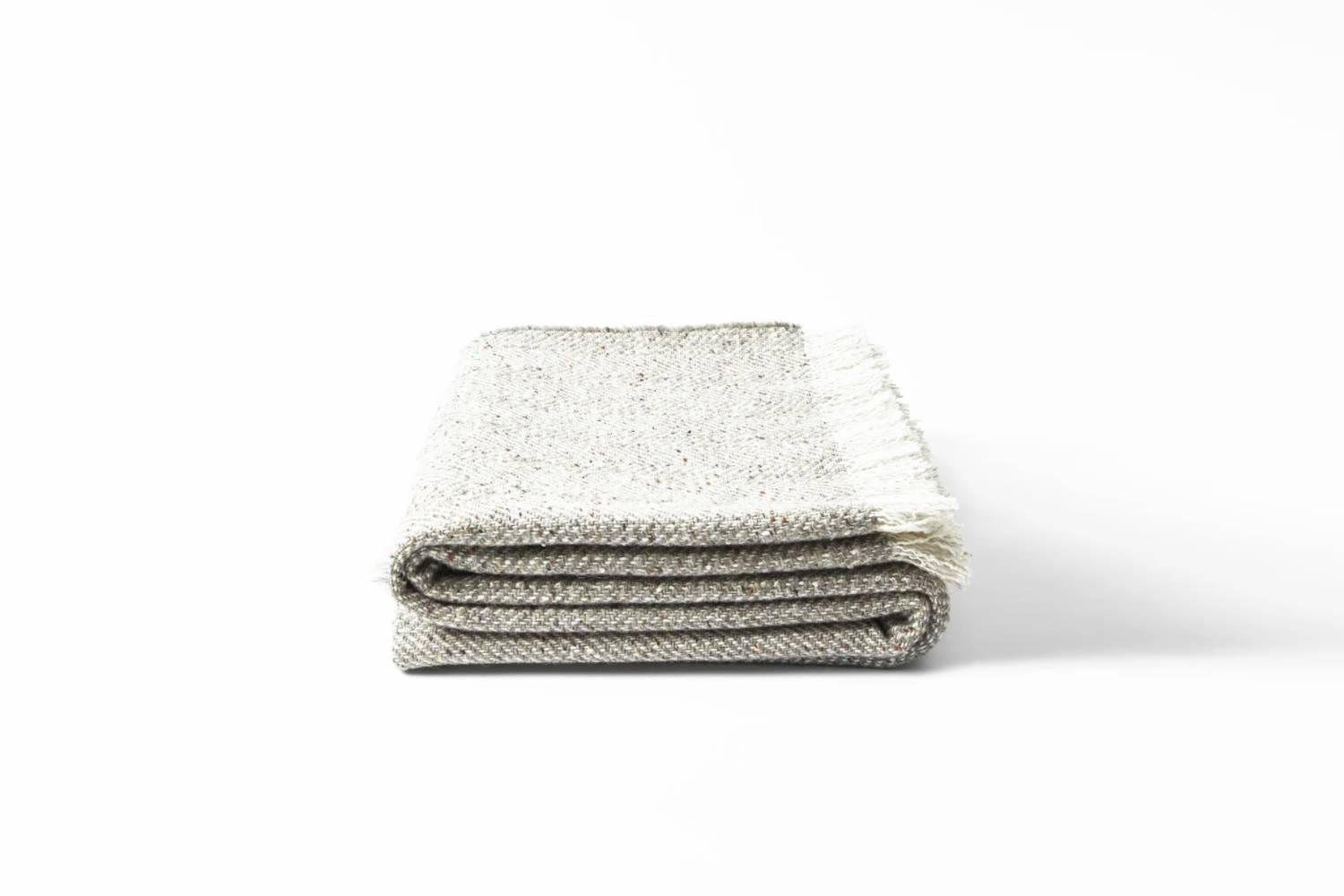 The Textured Herringbone Blanket is £5 from Mourne Textiles.